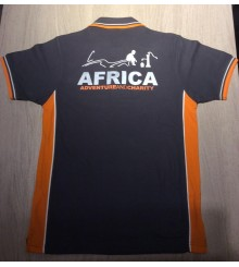 Polo Ufficiale Friends and Bikers (Grey/Orange)